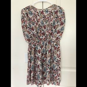 Floral Short Zara Dress
